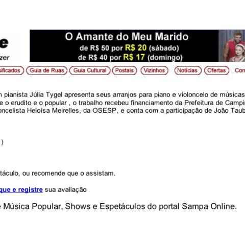 Sampa Online (Entremeados)