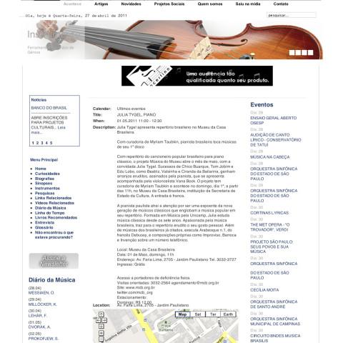 Revista Concertino (Entremeados)