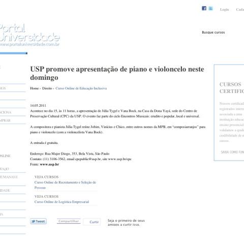 Portal Universidade (Entremeados)