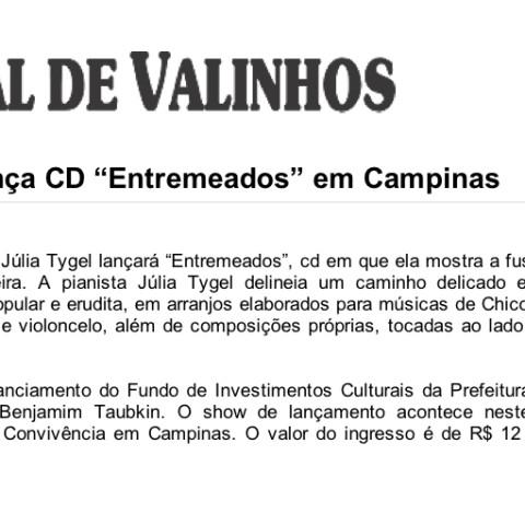 Jornal de Valinhos (Entremeados)