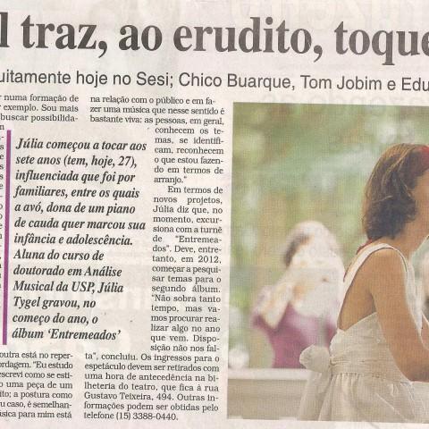 Cruzeiro do Sul - Sorocaba (Entremeados)