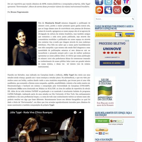 Entrevista site Musicaria 2