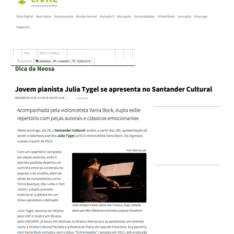 Catraca Livre Porto Alegre (Entremeados)