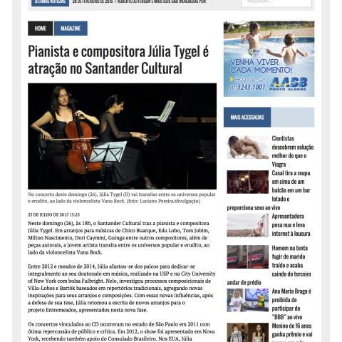 O Sul 2 - Porto Alegre (Entremeados)