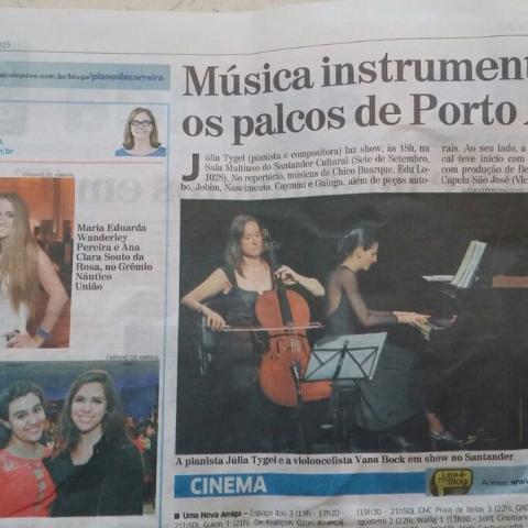 Correio do Povo 2 - Porto Alegre (Entremeados)