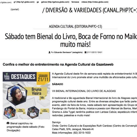 Gazetaweb Maceió (Vide Verso)